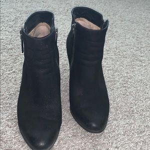 Black Michael Kors booties